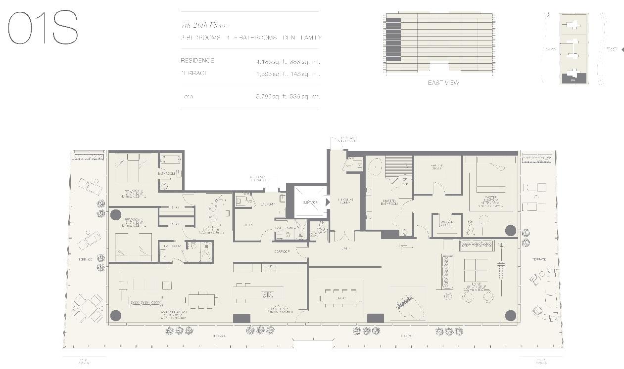 Oceana Bal Harbour Residence 01S