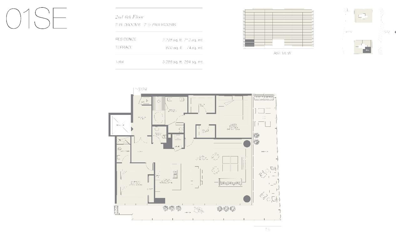 Oceana Bal Harbour Residence 01SE