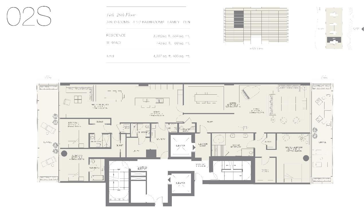 Oceana Bal Harbour Residence 02S