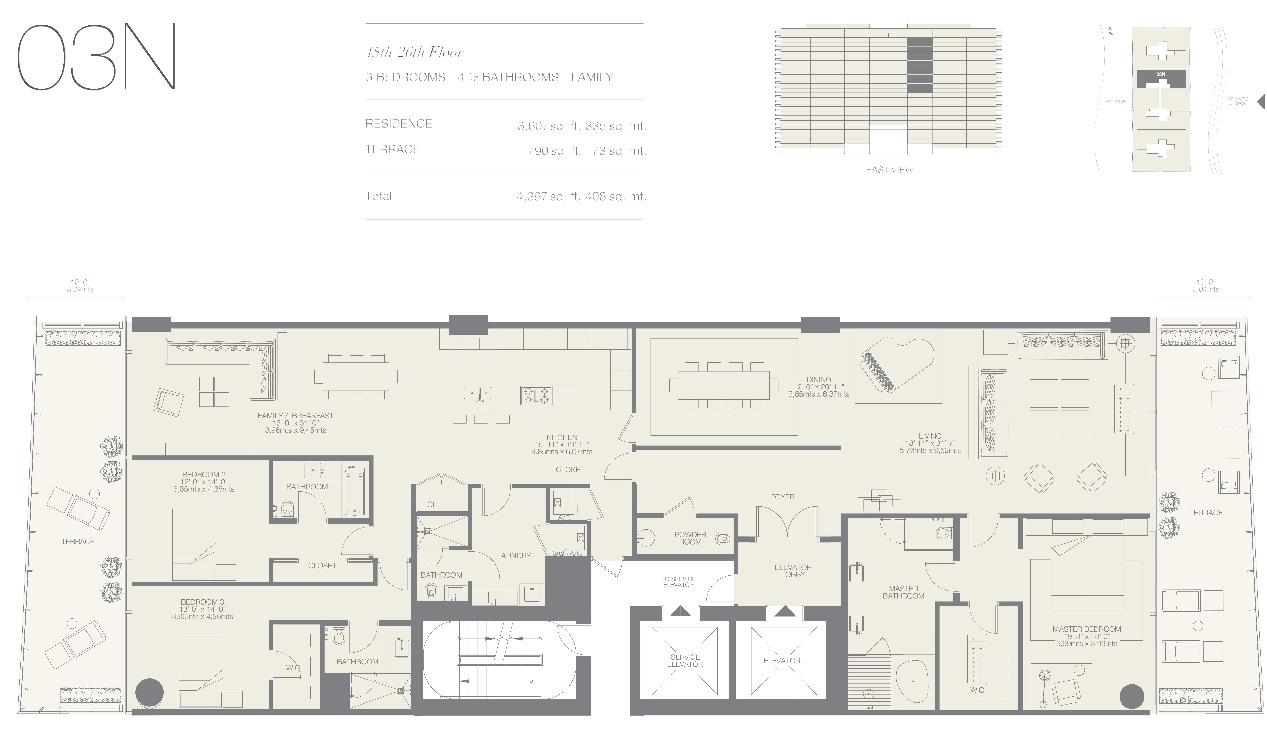 Oceana Bal Harbour Residence 03N
