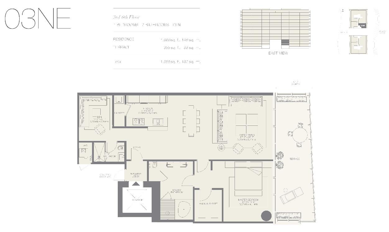 Oceana Bal Harbour Residence 03NE