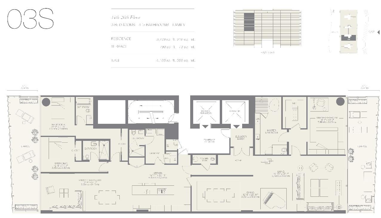 Oceana Bal Harbour Residence 03S
