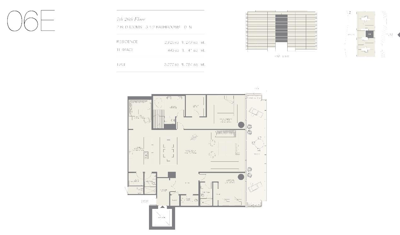 Oceana Bal Harbour Residence 06E