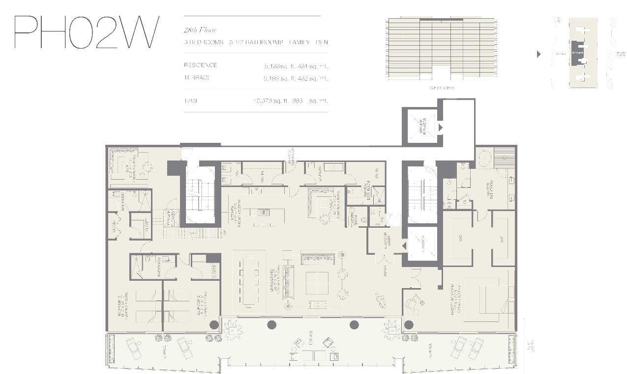 Oceana Bal Harbour Upper Penthouse 02W
