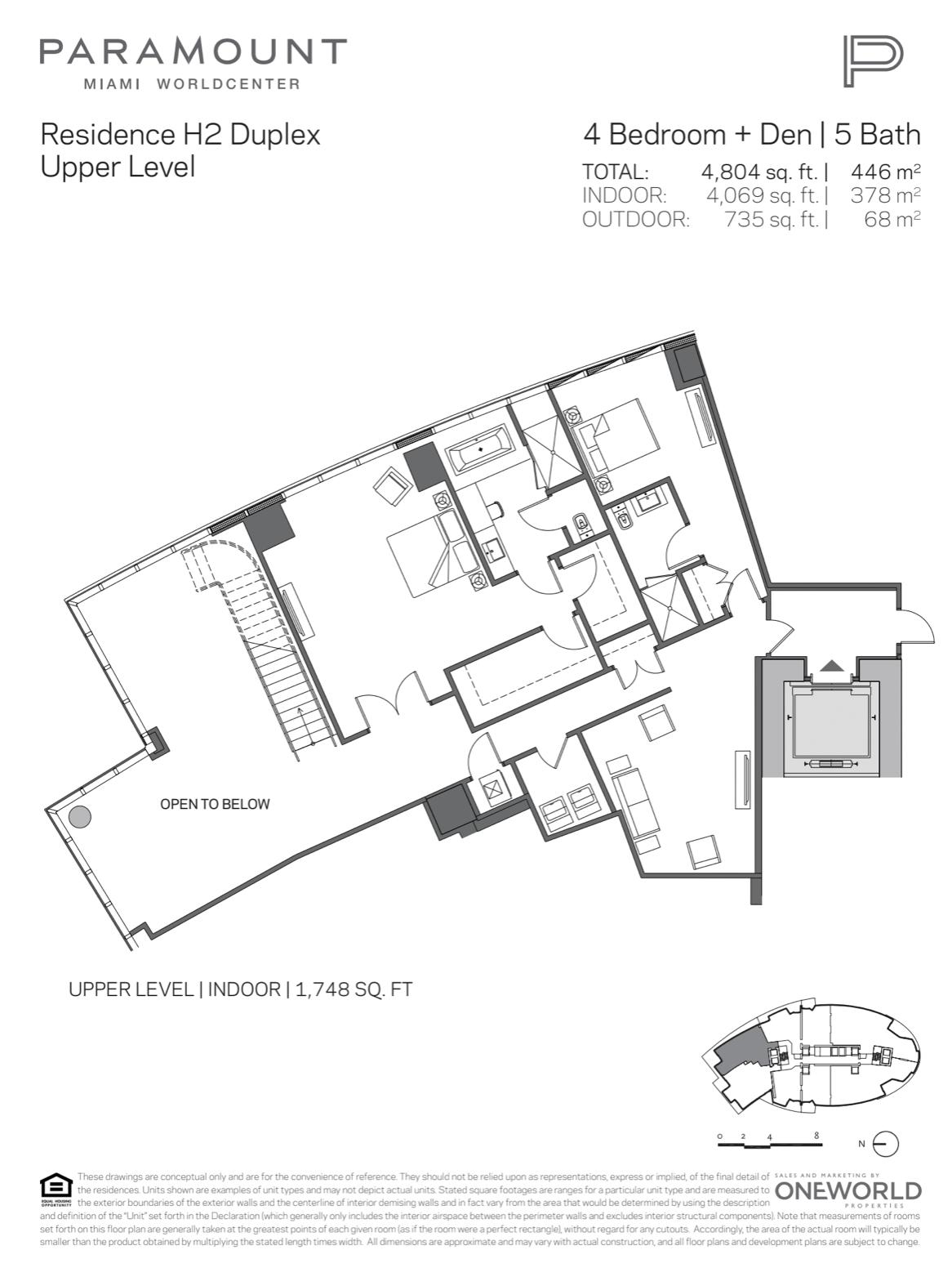 PMWC Penthouse H2 Upper Level