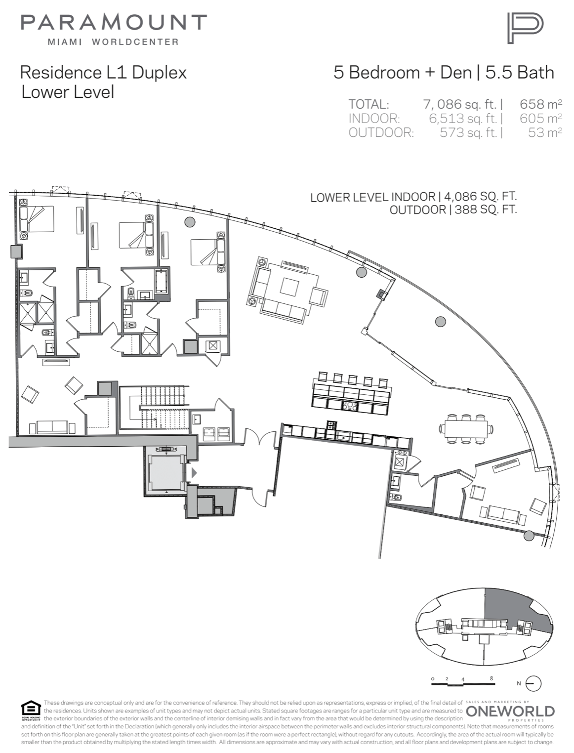 PMWC Penthouse L1 Lower Level