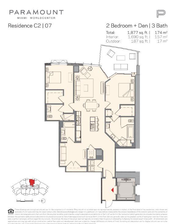 Paramount Miami Worldcenter Residence C2