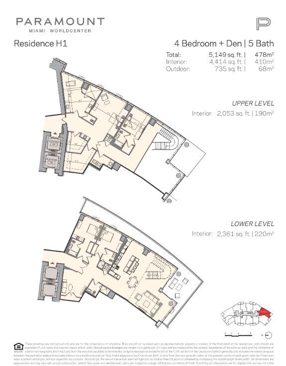 Paramount Miami Worldcenter Residence H1