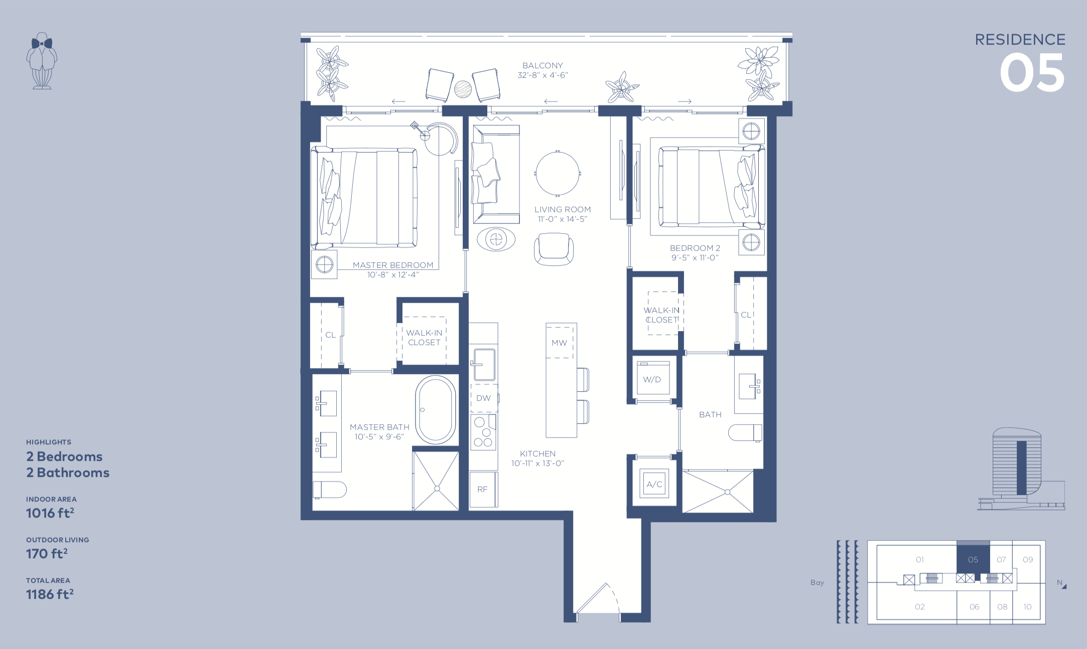 Floor Plan Mr C Residences Coconut Grove