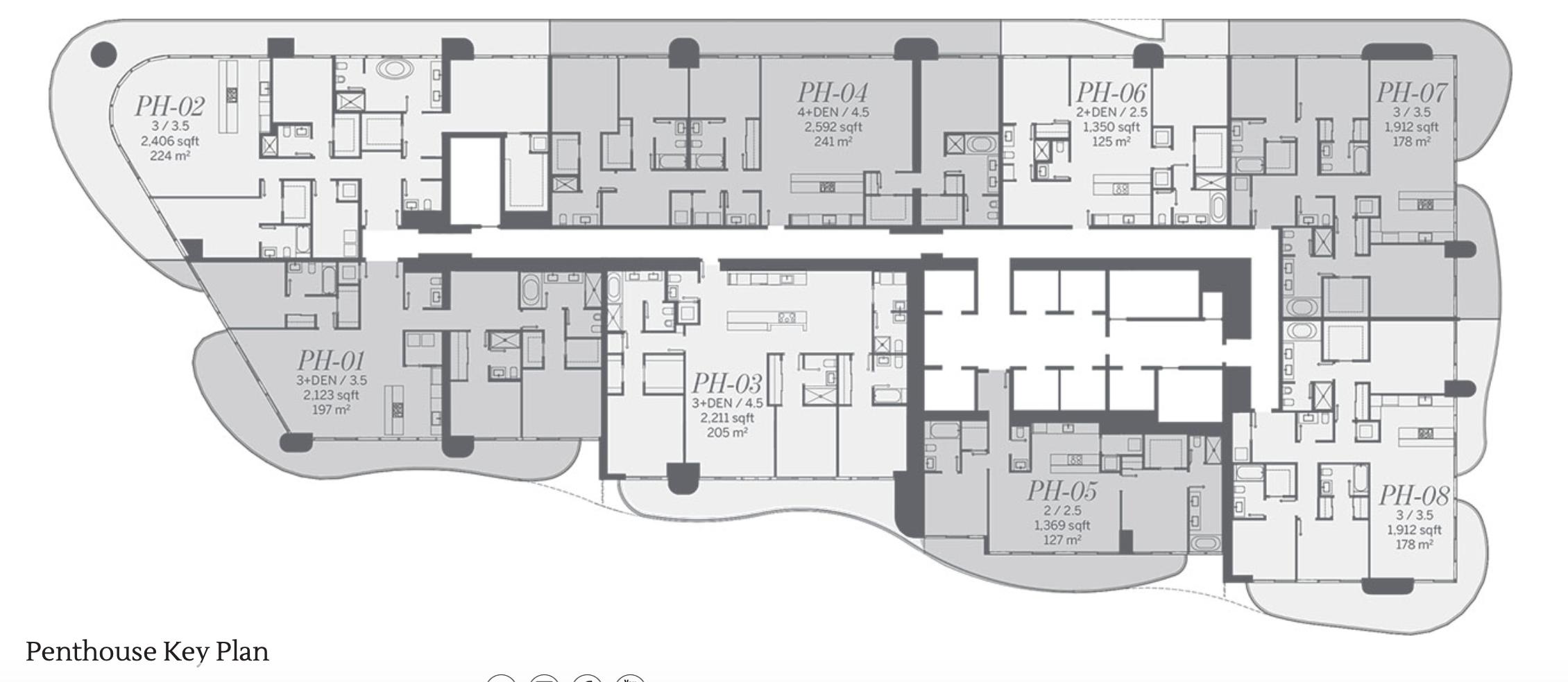 Penthouse Site Plan