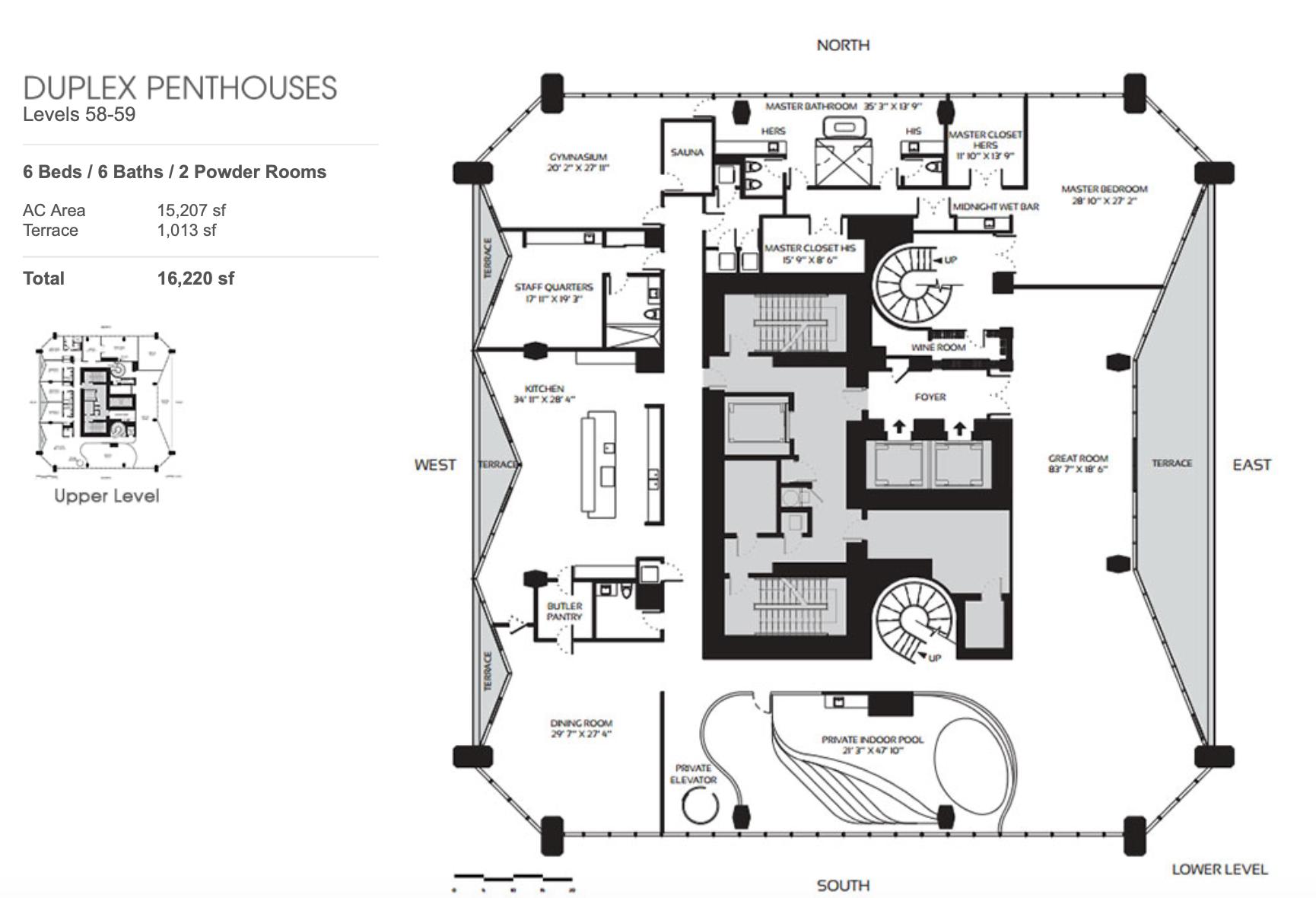 Duplex Penthouses