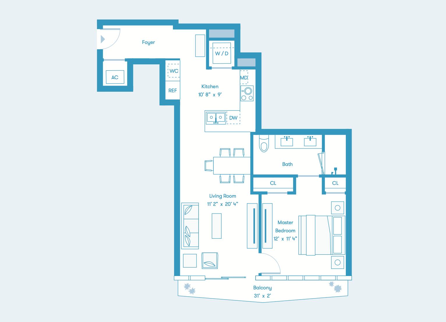 Bay Residence S Floors 8 - 36