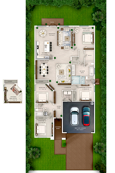 MARBELLA Unit2 FloorPlan